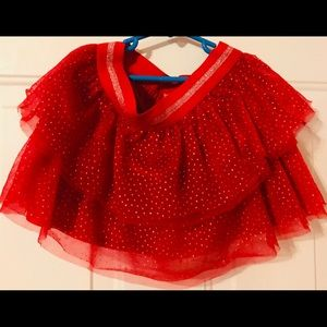 Girls tutu skirt size L